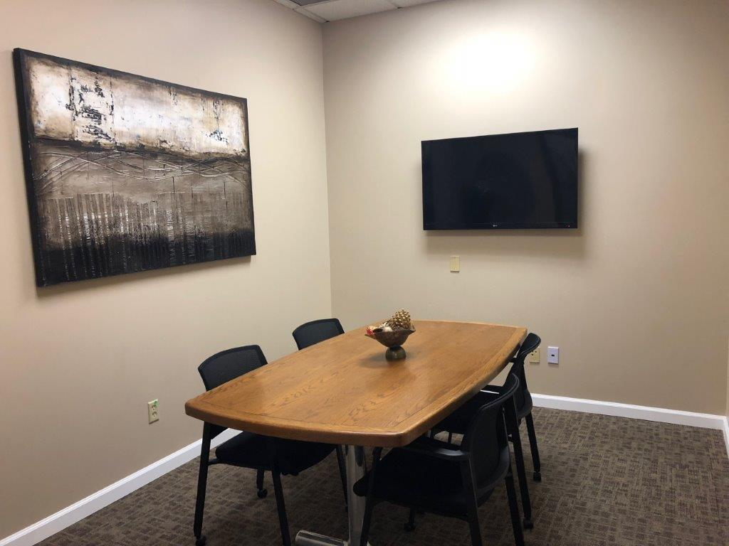 Person Conference Room Corona Via Avalon Executive Suites - 4 person conference table