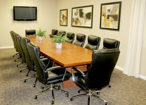 Conference Room Office Rentals RiversideVia Avalon Executive Suites - 14 person conference table
